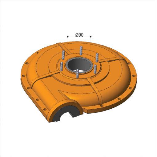 bombas rotores bombas metalicos usinaveis ferro fundido borracha vulcanizados borracha
