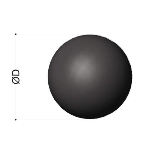 esferas  borracha vulcanizados borracha
