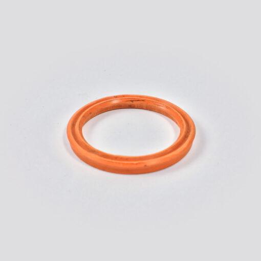 gaxeta vulcanizado silicone silicone 90 vermelho