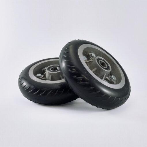 roda metálico usináveis ferro fundido vulcanizado borracha ln 60
