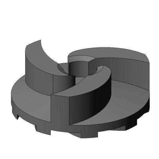 rotor metalicos usinaveis ferro fundido borracha vulcanizados borracha cerâmica massa