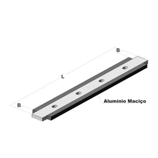 régua metalicos usinaveis alumínio borracha vulcanizados borracha cerâmica prensa e secador