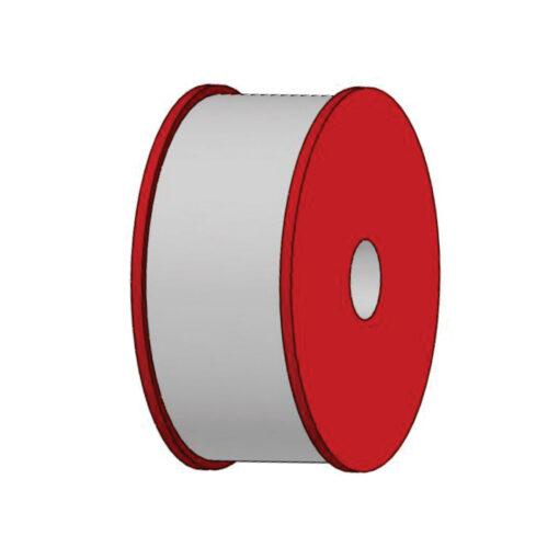 polia lisa metalicos usinaveis aço cerâmica retifica