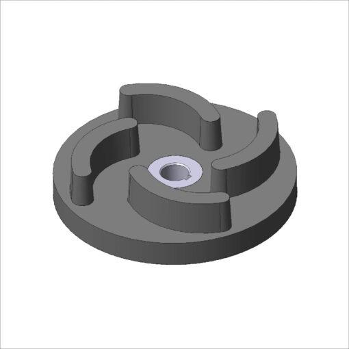bombas rotores rotores metalicos usinaveis ferro fundido borracha vulcanizados borracha